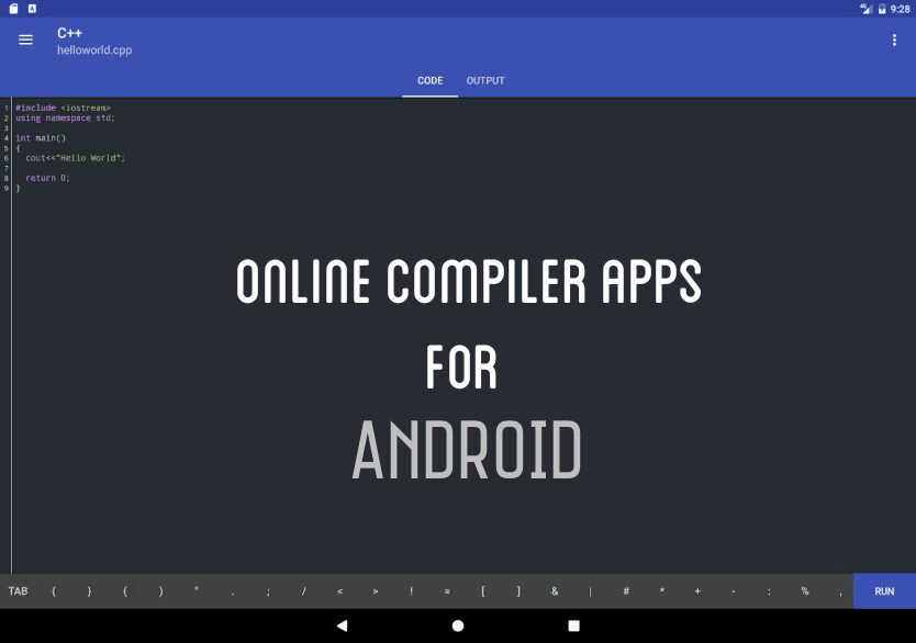 android compiler