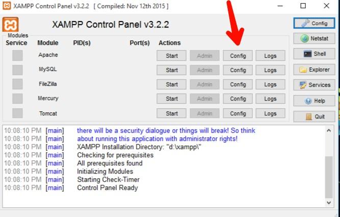 How to fix xampp apache error shutdown unexpectedly