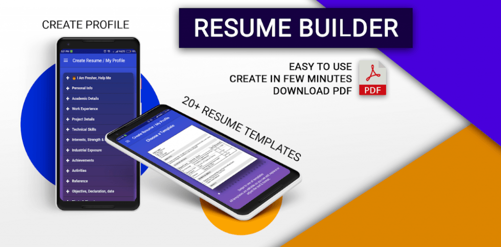 Best Resume Builder Apps 2018 For Android