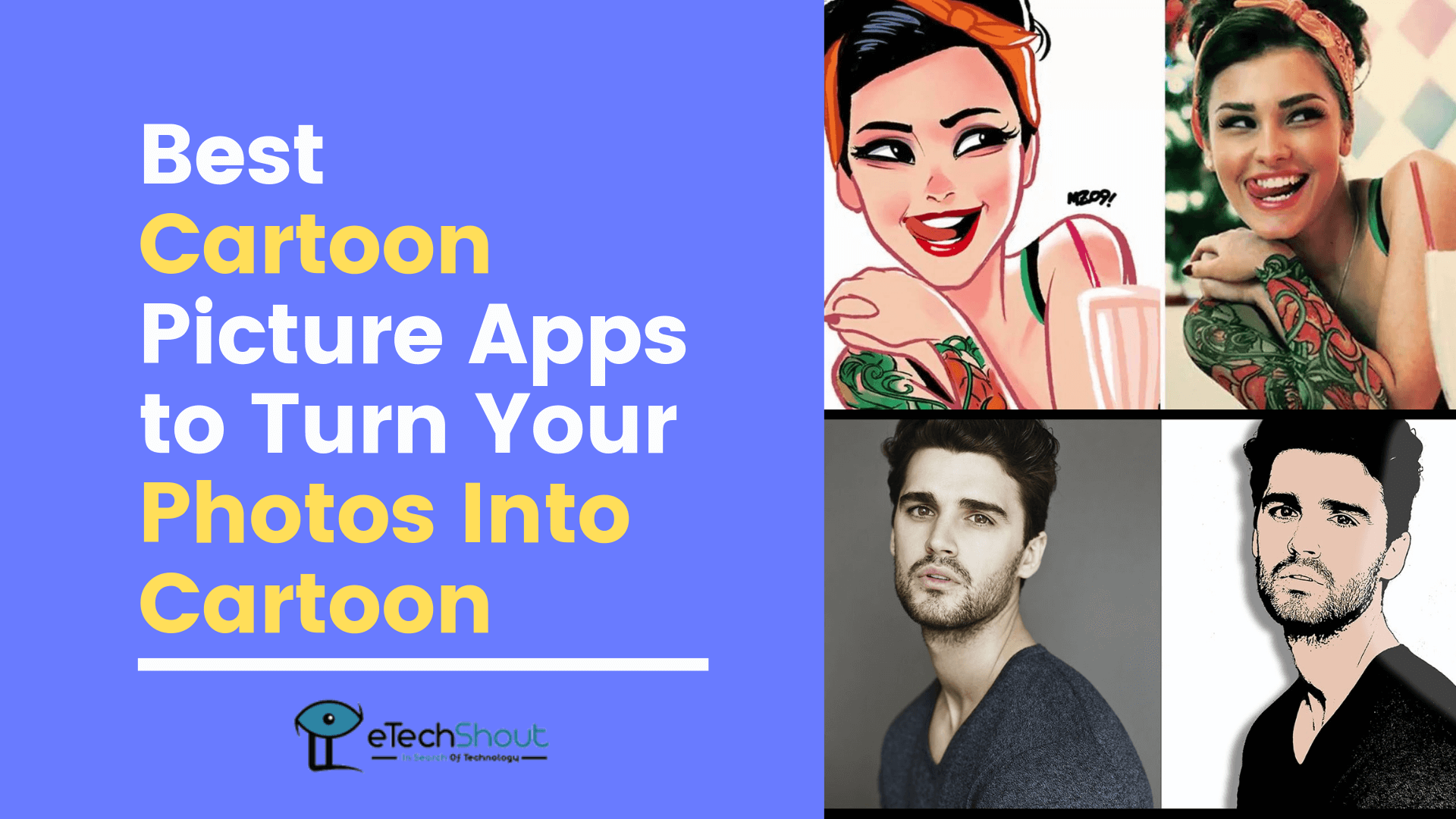 Top 20 Best Photo To Cartoon Picture Apps For Android And Ios In 2021