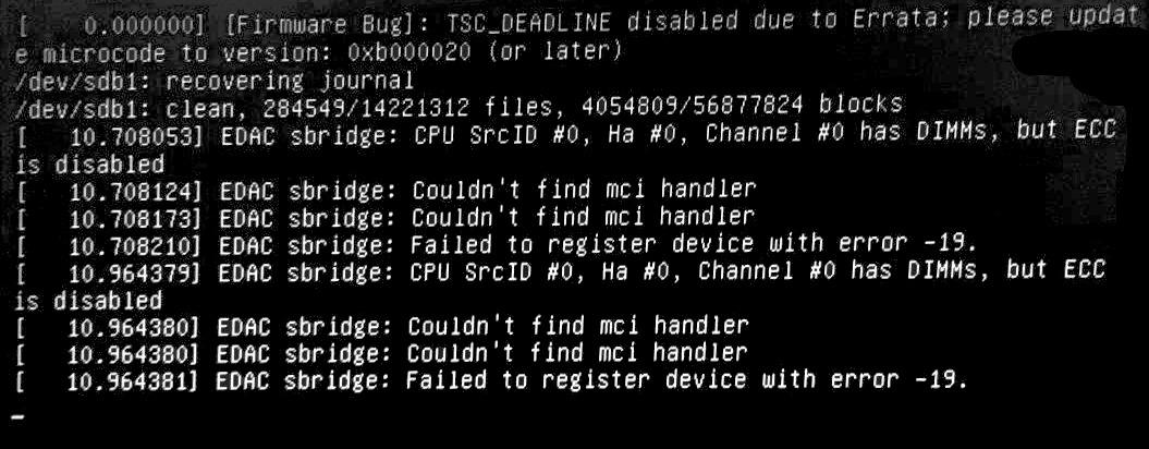 Fix TSC_DEADLINE disabled due to errata Error