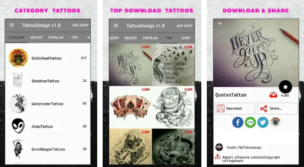 Top 11 Best Tattoo Design Apps For Android And Ios In 2019