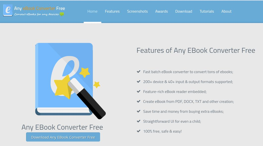 Any EBook Converter Free