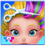 Crazy-hair-salon app for hairstyle