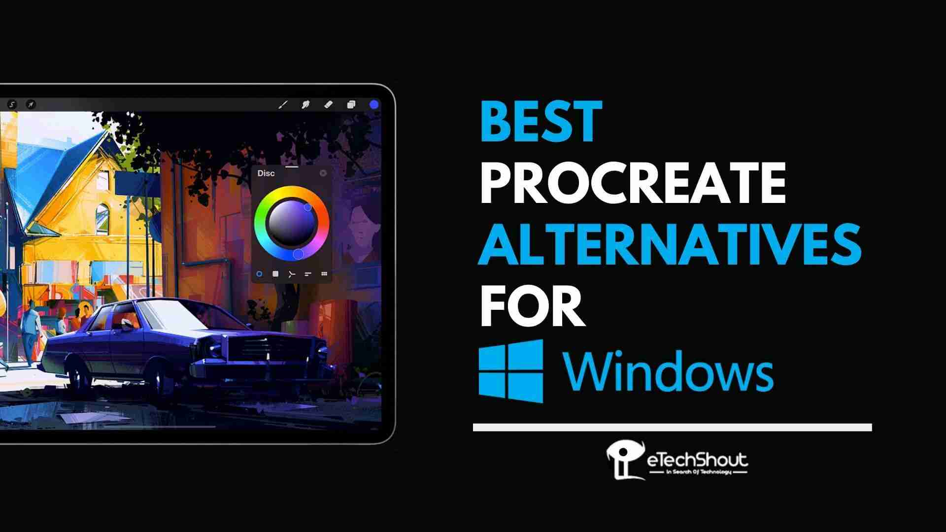 Procreate Alternatives Windows