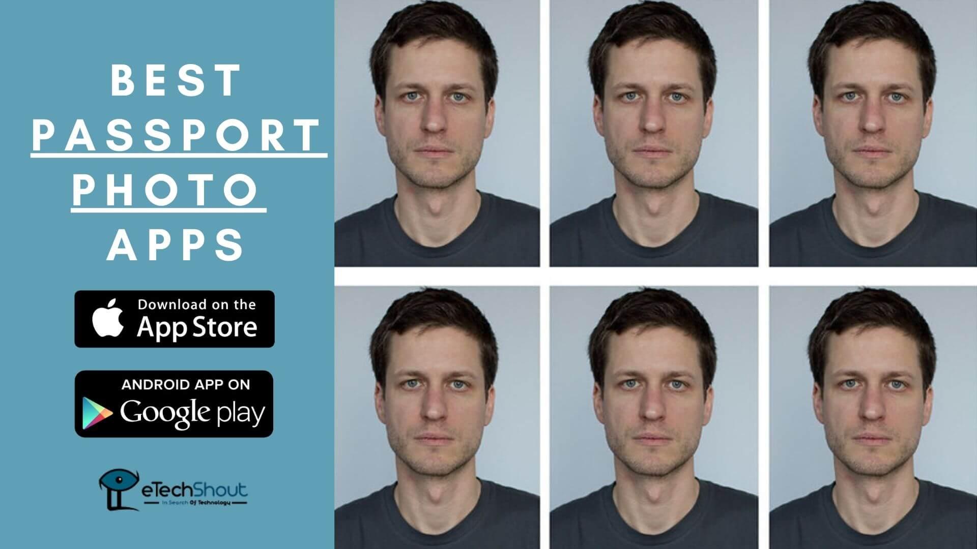best passport photo apps