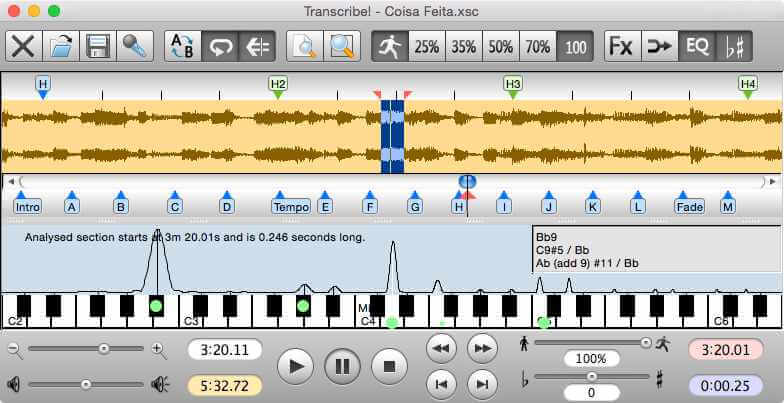 Seventh String mac transcription software