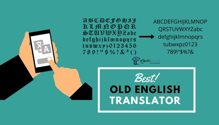 best old english translator