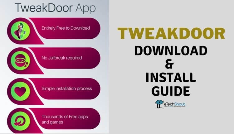 Tweakdoor App for iOS