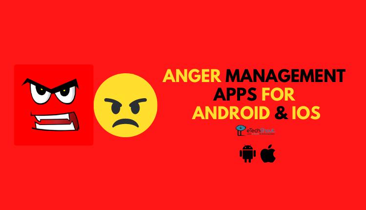 Anger Management Apps