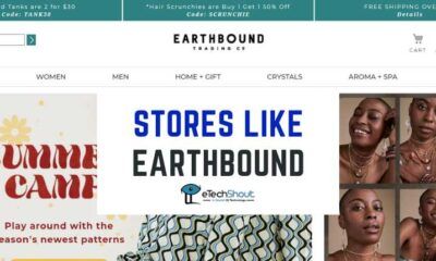 Top Online Stores Like Earthbound Trading Company