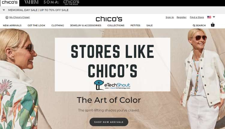 Top Stores Like Chicos