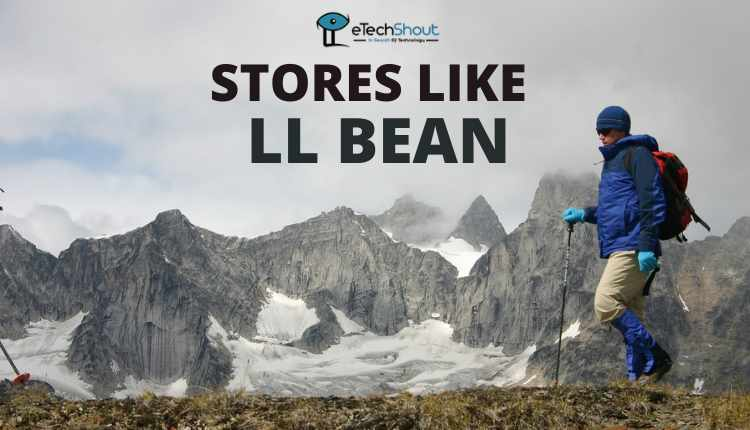 Top Stores Like LL Bean
